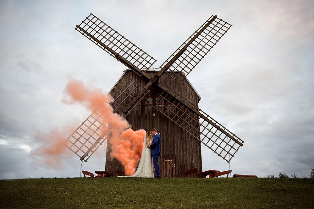 klip ślubny, fotograf gdańsk, sesja wiatrak
