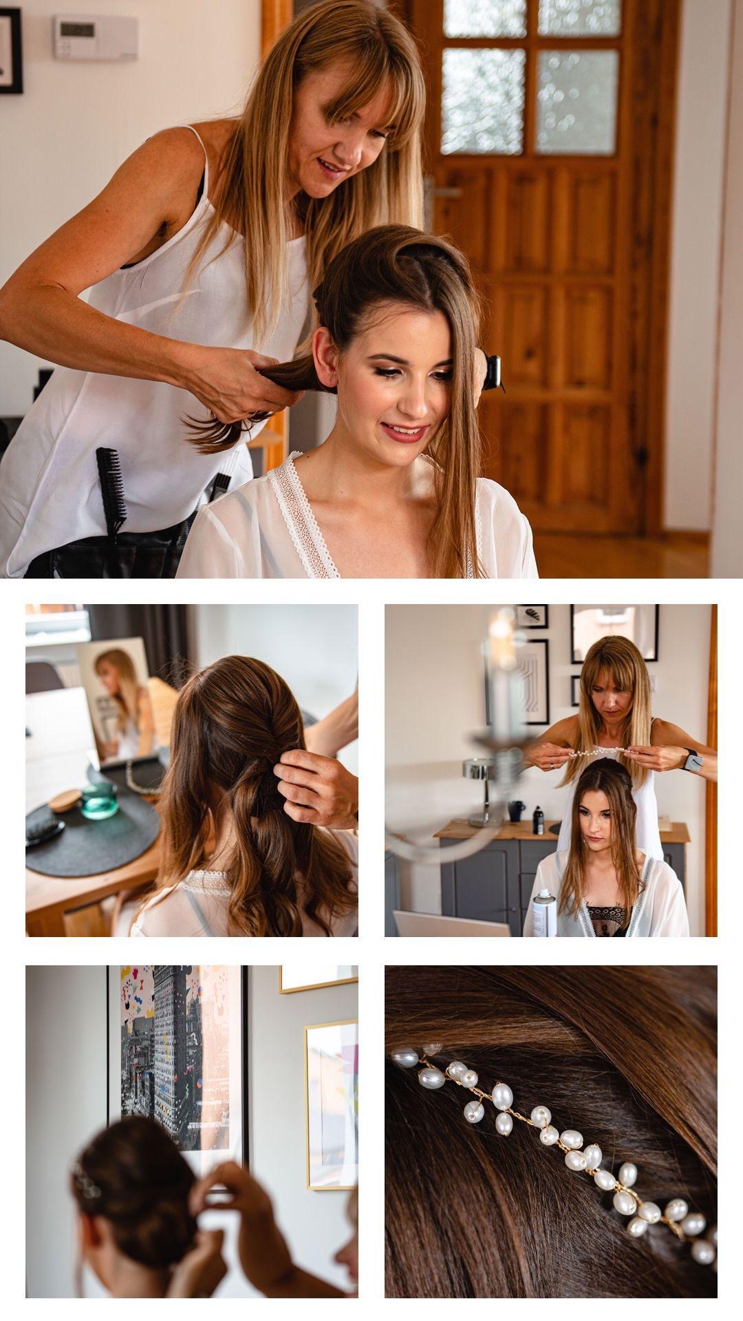 fryzura na wesele, fryzura Pani Młodej, przygotowania wesele, jak się uczesać na ślub