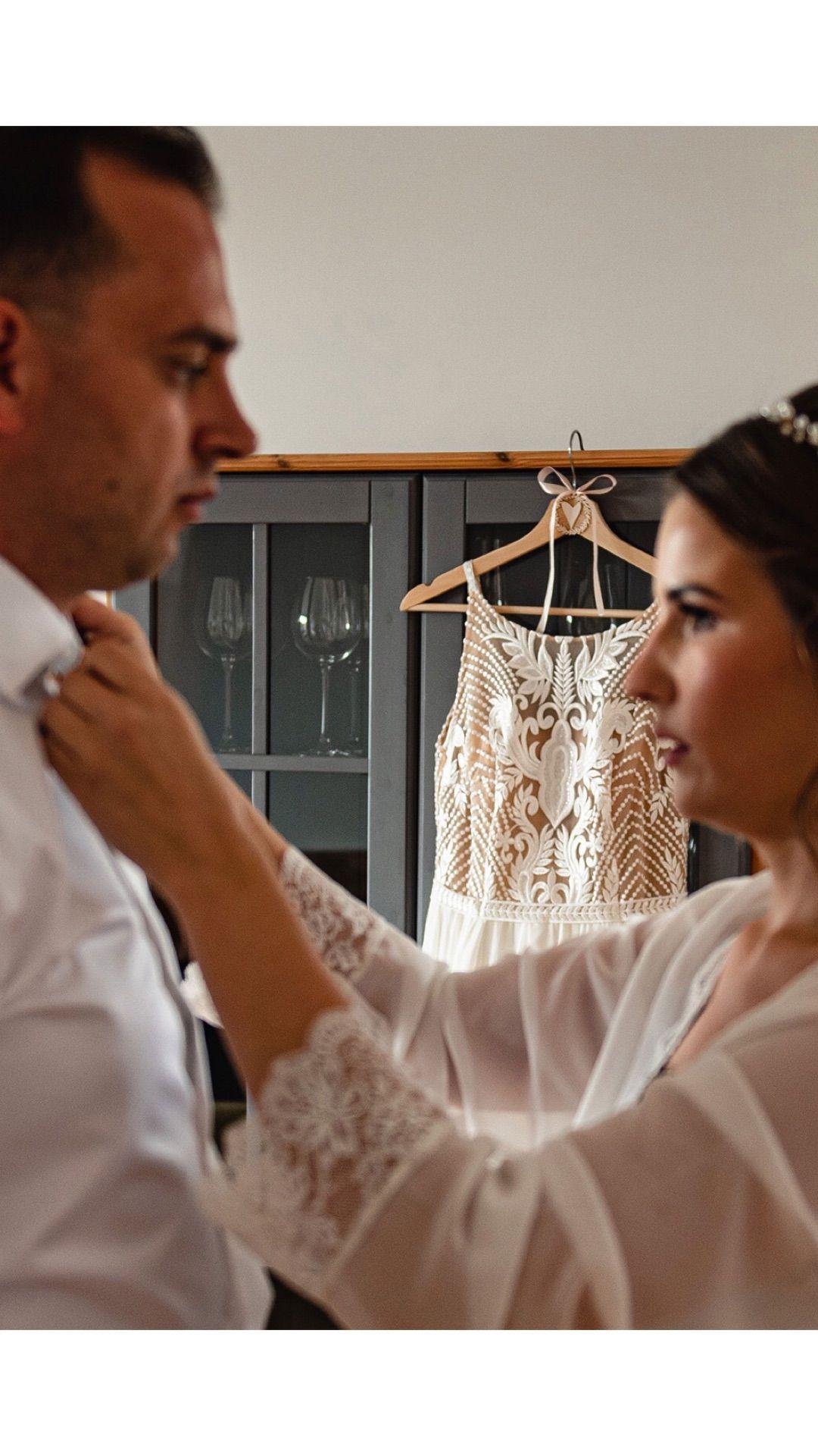 przygotowania ślubne, suknia boho