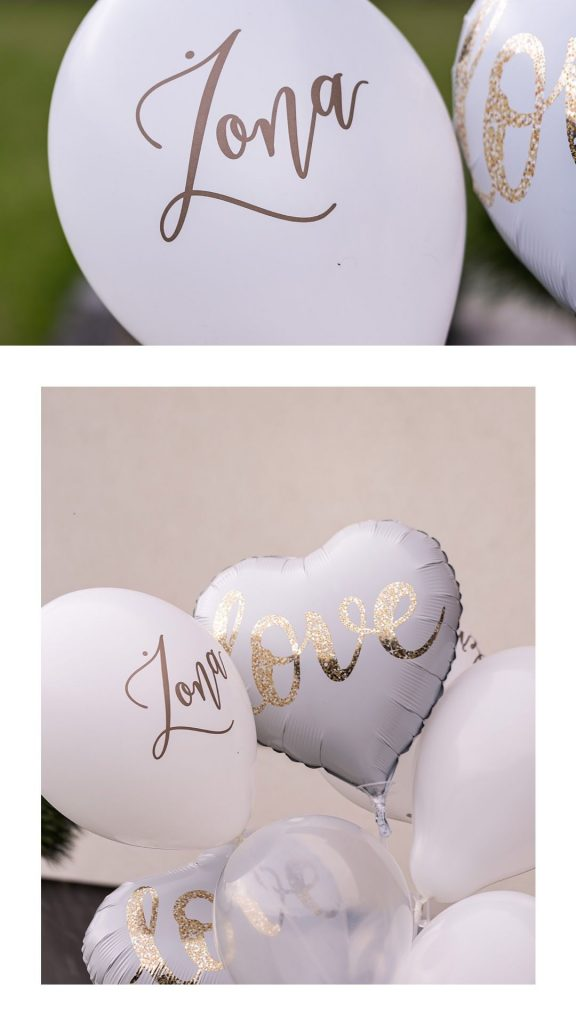 Balony na Ślub, balony love